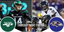 Thursday Night Football Preview: Jets at Ravens 8