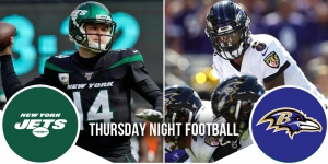 Thursday Night Football Preview: Jets at Ravens 10