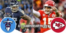 NFL Playoffs AFC Championship Preview: Titans at Chiefs 13