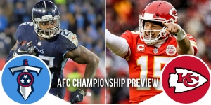 NFL Playoffs AFC Championship Preview: Titans at Chiefs 25