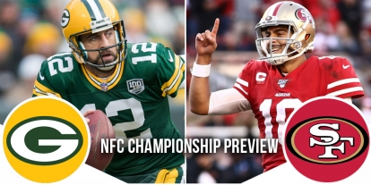 NFL Playoffs NFC Championship Preview: Packers vs 49ers 9