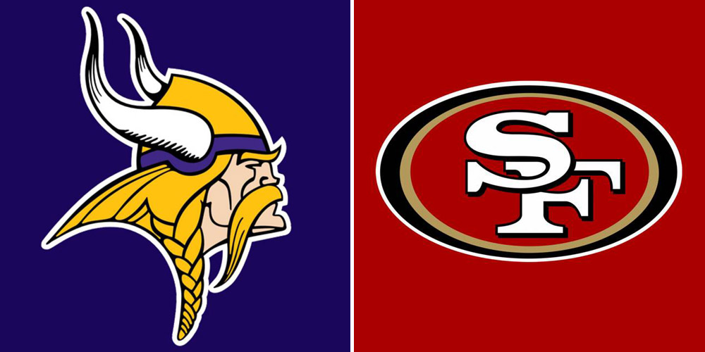 Vikings at 49ers