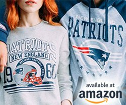NFL Merch on Amazon