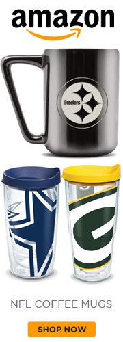 NFL Coffee Mugs from Amazon