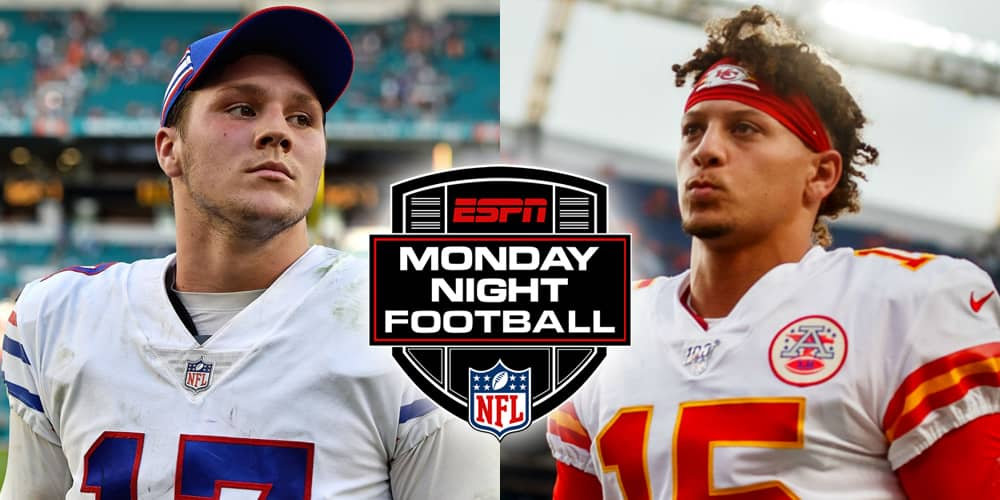 monday night football Bills at Chiefs