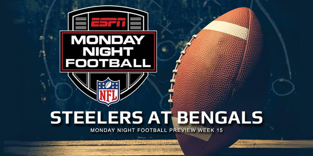 Monday Night Football Preview Week 15